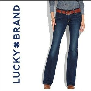 LUCKY BRAND Charlotte Kick Flare Jeans